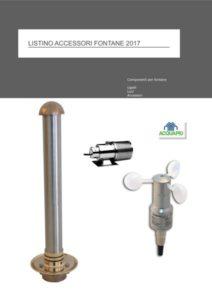 componenti accessori per fontane