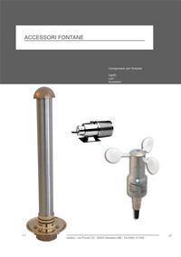 catalogo accessori fontane