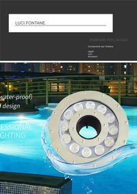 catalogo luci fontane
