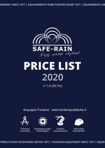 catalogo saferain 2020